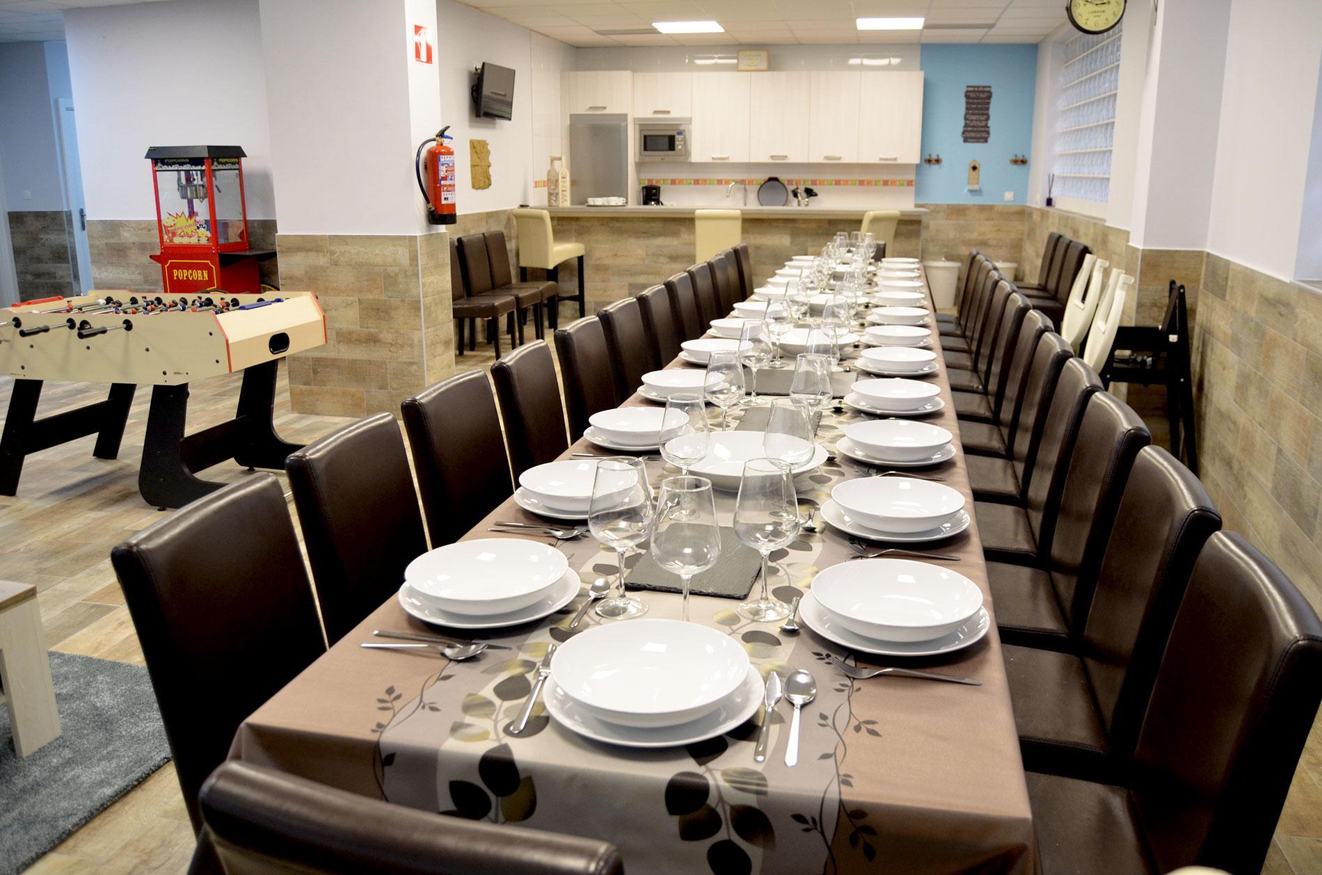 Txoko Eguzkilore - Espacio comidas y cenas